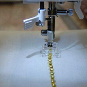 Relembrando como costurar miçangas