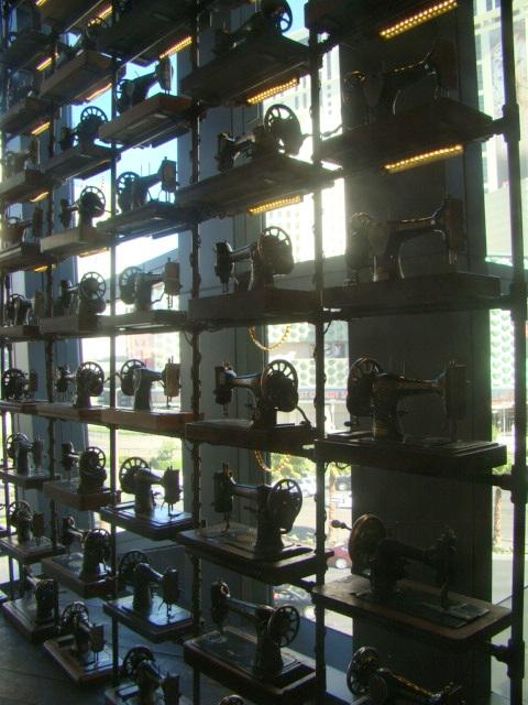 parede de máquinas