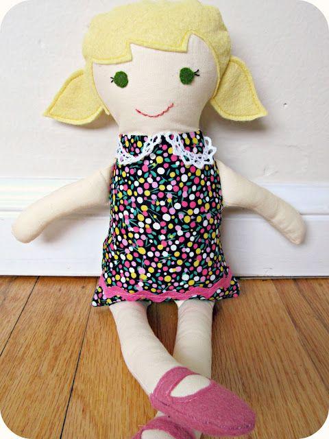 Boneca de Pano - Crianças