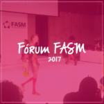 SINGER POR AÍ   Fórum FASM 2017